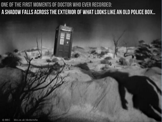 On 19th September 1963,  50 years ago today,  the BBC started filming a little show called Doctor Who...
