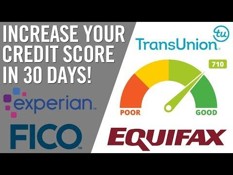 35 Increase Your Credit Score In Just 30 Days Honest Finance Collaboration Youtube Credit Solutions Credit Score What Is Credit Score