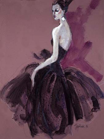 stipleman, the illustrator that inspired me to do fashion ... will love him and his drawings forever