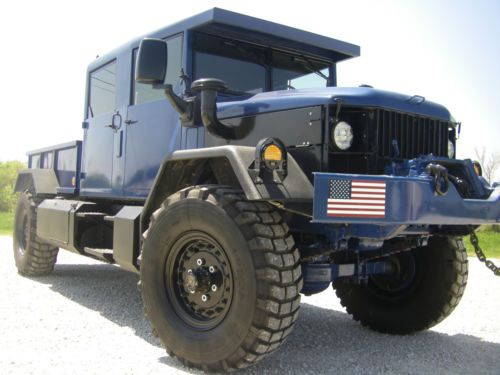 Crew Cab M35a2 2 1 2 Ton Military Truck M923a2 M998 Monster Hummer