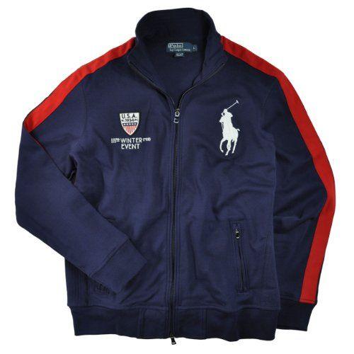 Polo Ralph Lauren Men\u0026#39;s Winter Event Big Pony Track Jacket