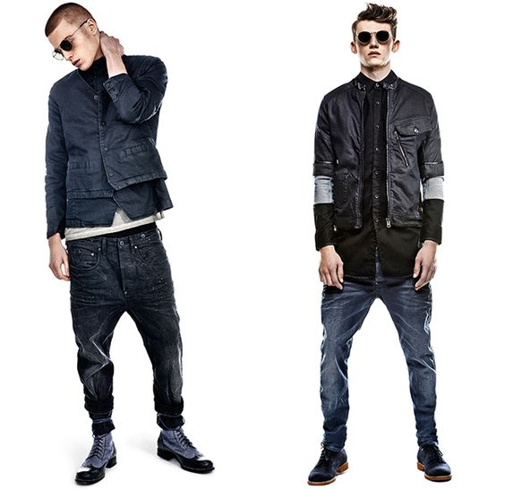 G-Star RAW 2014 Summer Mens Denim Jeans Collection - Amsterdam The ...