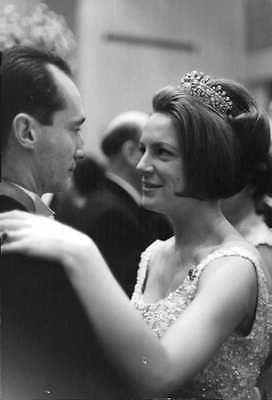 Vintage-photo-of-Princess-Irene-of-the-Netherlands-dancing-with-her-husband-Duke