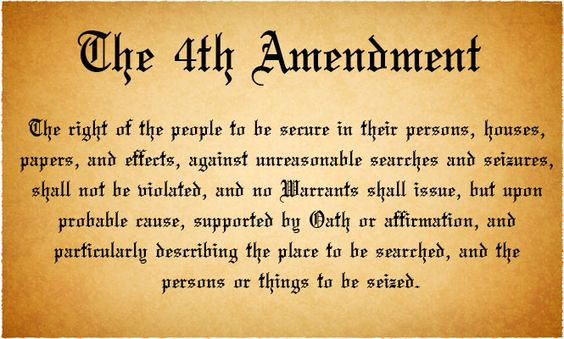 The right of the people to be secure in their persons, houses, papers, and effects, against unreasonable searches and seizures, shall not be violated, and no Warrants shall issue, but upon probable cause, supported by Oath or affirmation, and particularly describing the place to be searched, and the persons or things to be seized.[