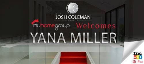 The Josh Coleman Group welcomes Yana Miller to our team!   #JoshColemanRealtor  #JoshColemanGroup  #MyHomeGroup