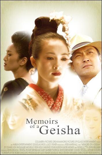 Memorias De Una Geisha 2005 Rob Marshall Memorias De Una Geisha Geisha Peliculas Recomendadas