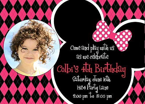 Printable Mickey Mouse Invitations ~ Personalized for your Childs ...