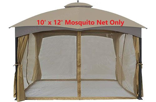 Gazebo Replacement Mosquito Netting Screen House Sale House
