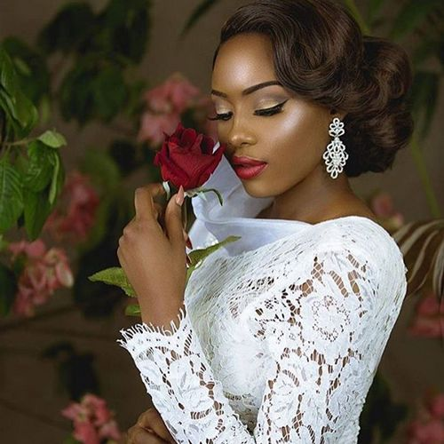 13 Natural Hairstyles For Your Wedding Day Slay: African American Wedding Hairstyles 13