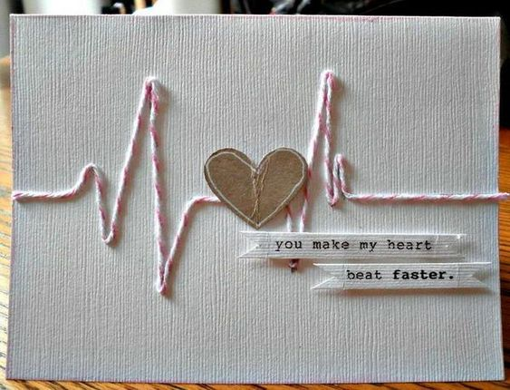 30 creative valentine day card ideas tutorials for Creative valentine day cards