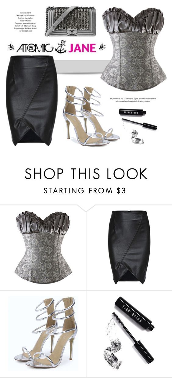 """ATOMIC JANE SHOP"" by atomic-jane ❤ liked on Polyvore featuring Bobbi Brown Cosmetics and Chanel"