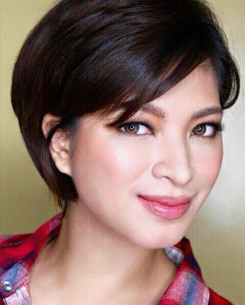 Pin By Xtanlee Irayac On Crushness Short Hair Styles Hair Styles Angel Locsin