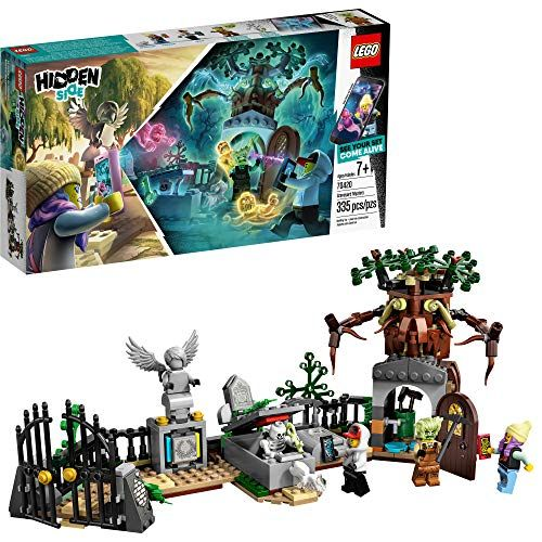 Lego Hidden Side Graveyard Mystery Building Kit 335 Pieces Only 23 99 Unique Toys Playset Lego Sets