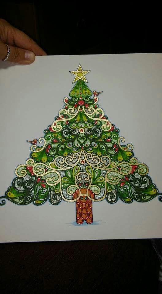 110 Best Johannas Christmas Colouring Images On Pinterest