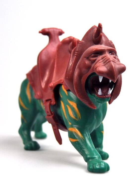 """Battle Cat"" - Couldn't have a He-Man toy without Battle Cat! My cousins had He-Man toys and I loved them!"