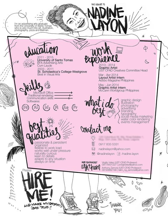 21 best Creative CV - College images on Pinterest Resume ideas - best resumes 2014
