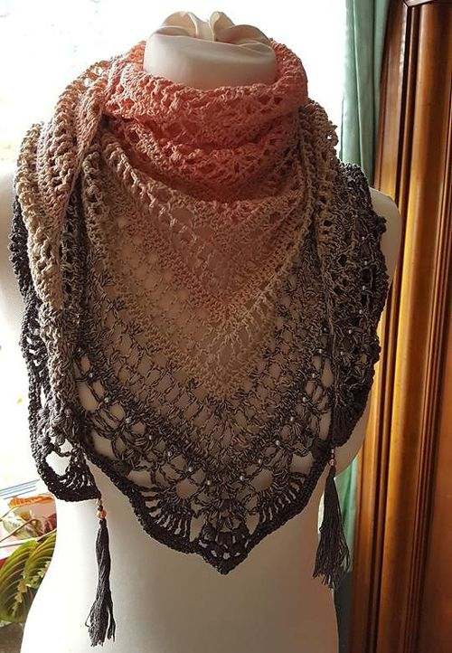 We Like Knitting Free Patterns : We like knitting schal quiraing free crochet pattern