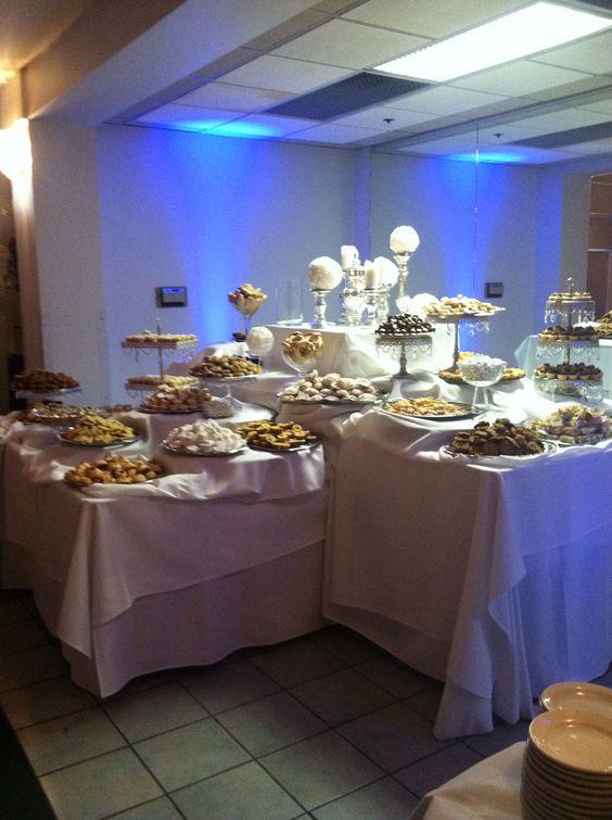BIG AZZ Italian Wedding Cookie Table
