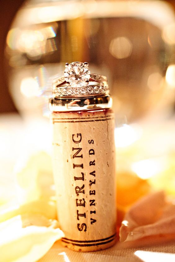 Top two rings..gorgeous & Always a use for wine corks :)