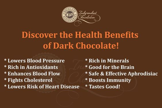 Dark Dove Chocolate is HEALTHY for YOU.