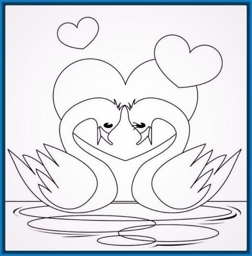 Dibujos Bonitos De Amor Dibujos Romanticos Para Pintar Love