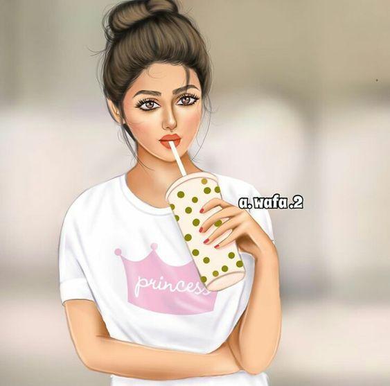 صور بنات جيرلي رائعة اجمل صور بنات كرتونية رمزيات بنات منوعه صور بنات جيرلي In 2021 Cute Girl Drawing Cartoon Girl Images Girly Drawings
