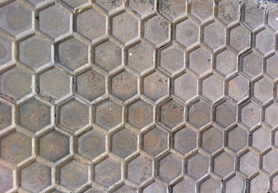 Honingraat patroon