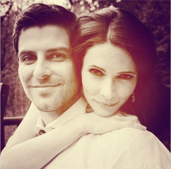 Are david giuntoli and bitsie dating
