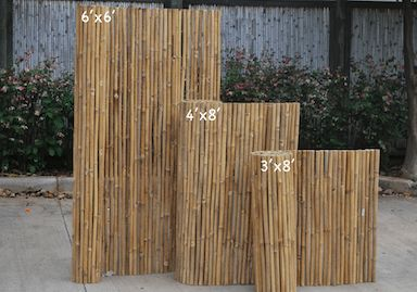 Lowes Bamboo Fence And Bamboo On Pinterest