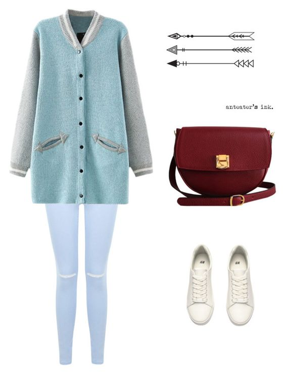 """Untitled #119"" by inespereira3 ❤ liked on Polyvore featuring Miss Selfridge, H&M and The Code"