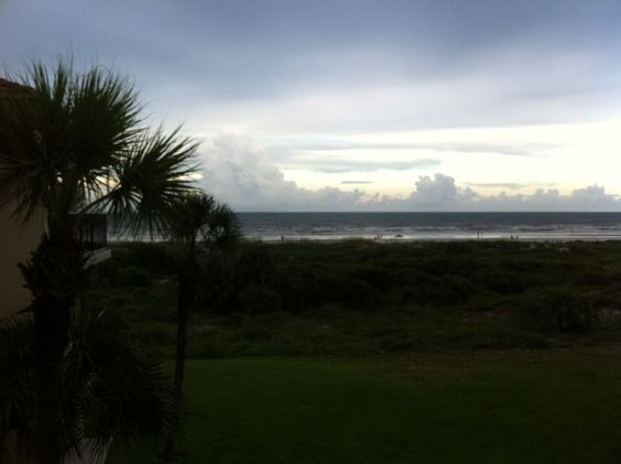 I love a nice landscape at the beach in the summer. St. Augustine, FL.