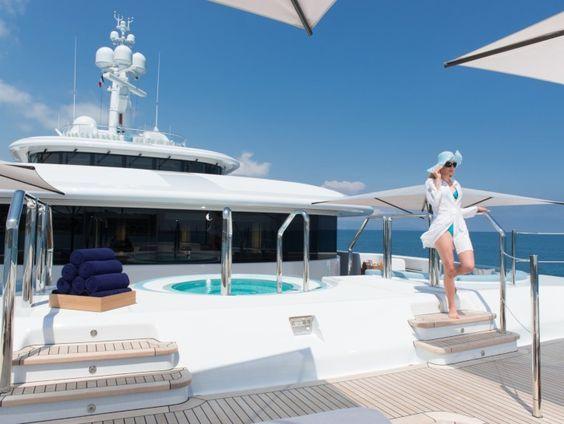 The Nirvana yacht