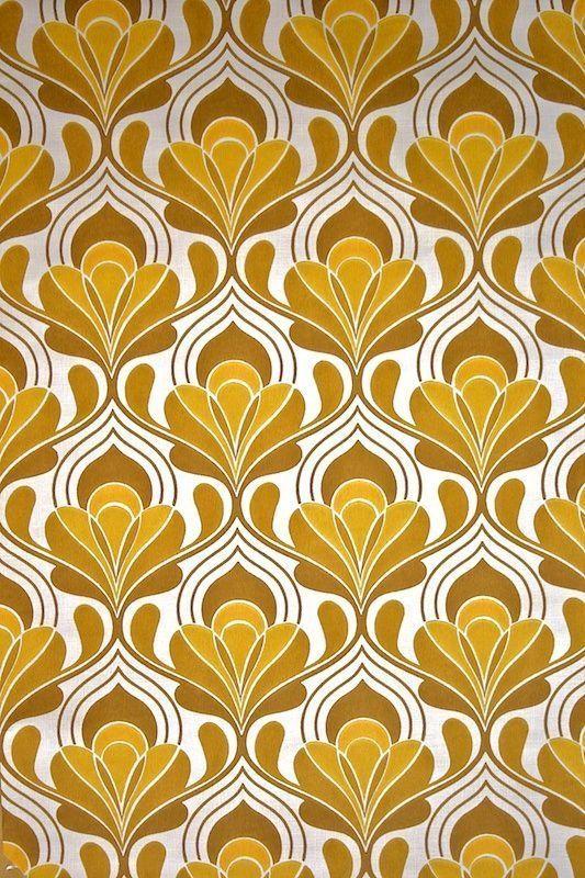 Gold Art Nouveau With Images Retro Wallpaper Pattern