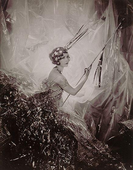 """""""Miss Nancy Beaton as a Shooting Star"""", Sir Cecil Beaton 1928"""