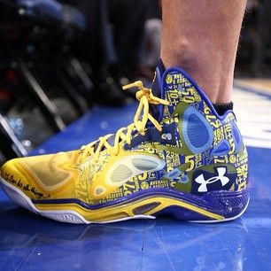 Instagram photo by nba Stephen Curry s game shoe for