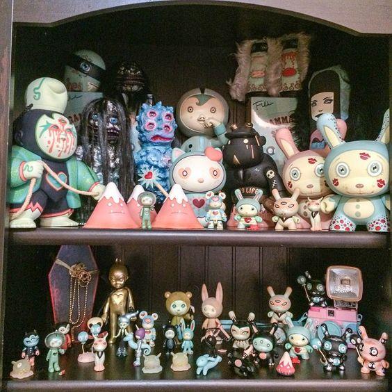 Art toys by Tara McPherson