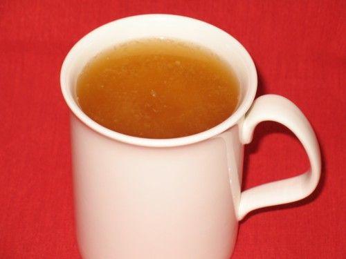 Recette santé - Bouillon de miso et thym