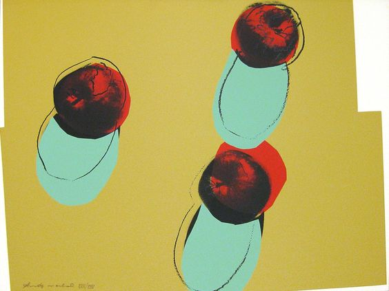 Space Fruit: Still Life (Apples) | Andy Warhol, Space Fruit: Still Life (Apples) (1979)