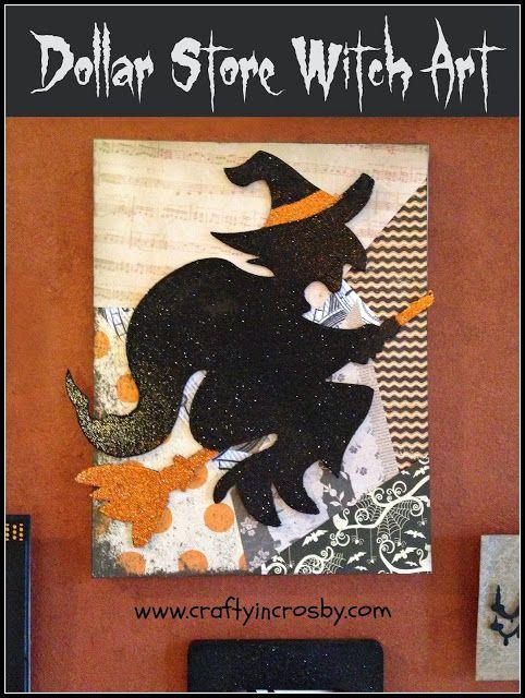Witch Niche - Transformed Art Niche for Halloween