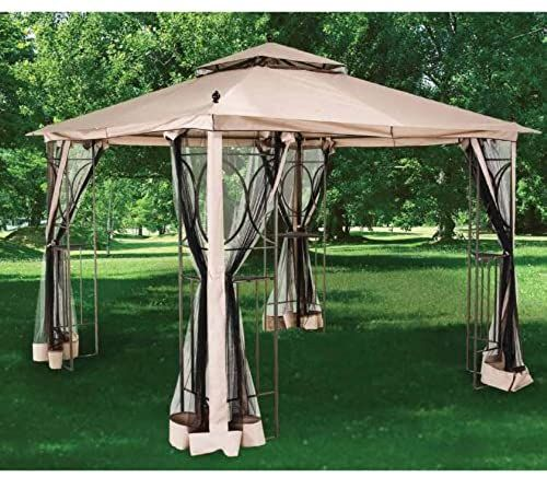 Best Seller 2010 Nantucket 10 X 10 Gazebo Replacement Canopy Netting Riplock 350 Online Newtrendyfashion In 2020 Gazebo Replacement Canopy Gazebo Replacement Canopy