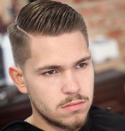 Side Part Taper Fade Side Part Haircut Mens Hairstyles Undercut Side Part Hairstyles