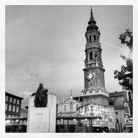 """""""Goya y la Seo"""" monumentos en #Zaragoza"""