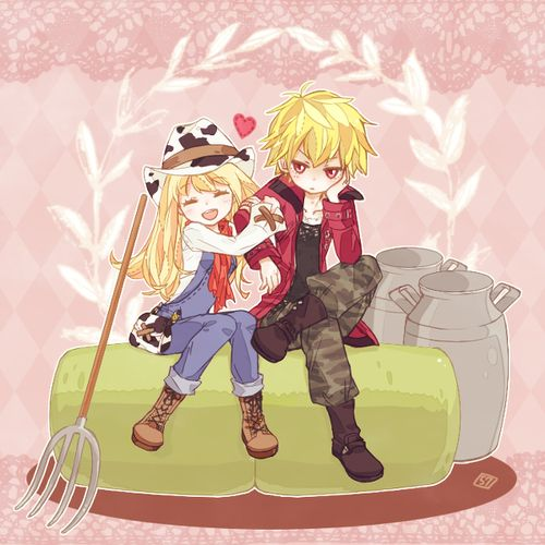 Harvest Moon: A New Beginning! Rio and Neil