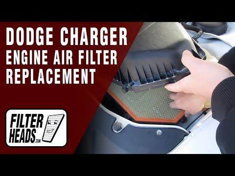 How To Replace Cabin Air Filter 2012 Dodge Charger V8 5 7l In 2020 2012 Dodge Charger Dodge Charger Engine Air Filter