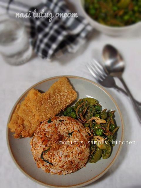 Nasi Tutug Oncom Makanan Cabai Rawit Tumis