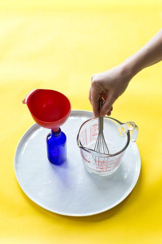 A Homemade Stain-Removing Spray