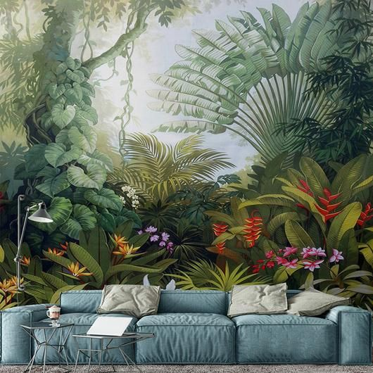 Nature Decor Wall Decor Noble Gardens Mural Wallpaper M Beautiful Natural Decor Nature Inspired Design Natur Garden Mural Mural Wallpaper Custom Murals