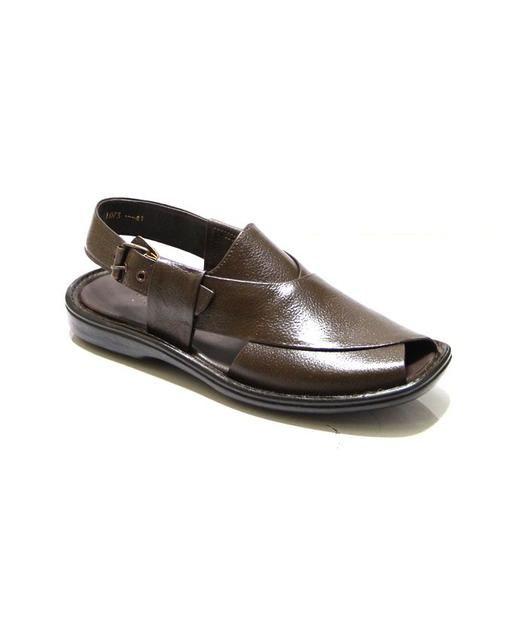 Brown Leather Peshawari Sandals For Men Dukandar Pakistan Shoes Mens Men Brown Leather