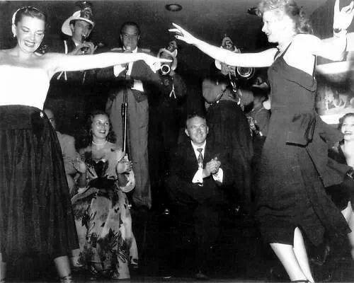 Judy Garland and Lucille Ball