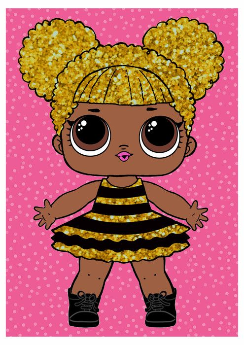 Lol Surprise Queen Bee Free Printable Posters Oh My Fiesta In English Lol Dolls Birthday Poster Queen Bees